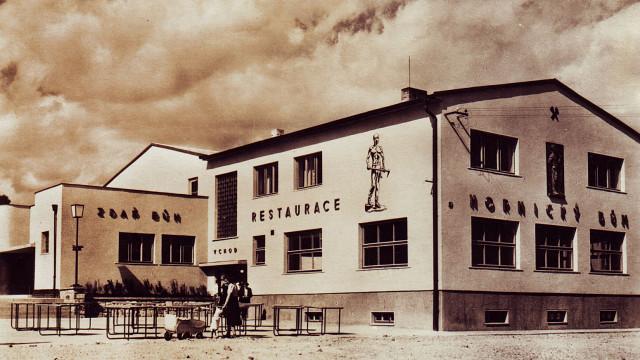 Nové sídliště padesátá léta 20. stoleti